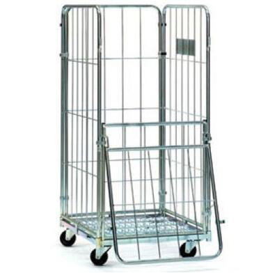 Vers til jaula multiusos con puerta que rota 180 grados for Puertas 180 grados