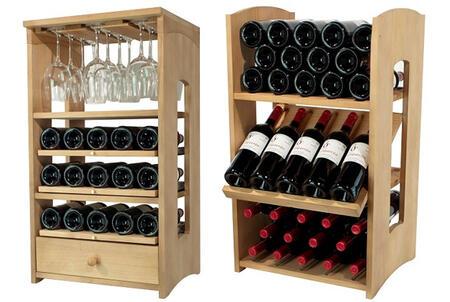 Tu colecci n de vinos se merece un buen botellero de madera - Botelleros de madera rusticos ...