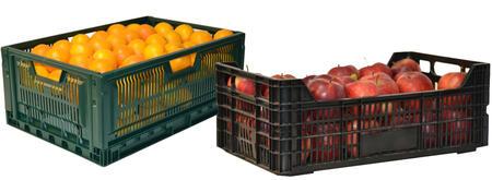 Cajas de pl stico para almacenar verdura y fruta - Cajas de plastico para almacenar ...